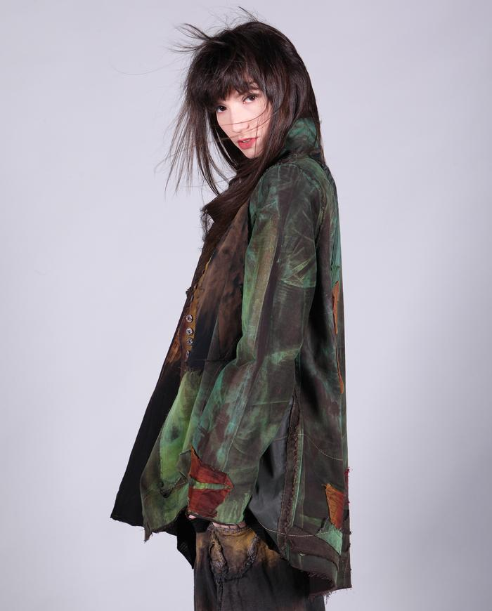 'earth and forest' detailed jacket