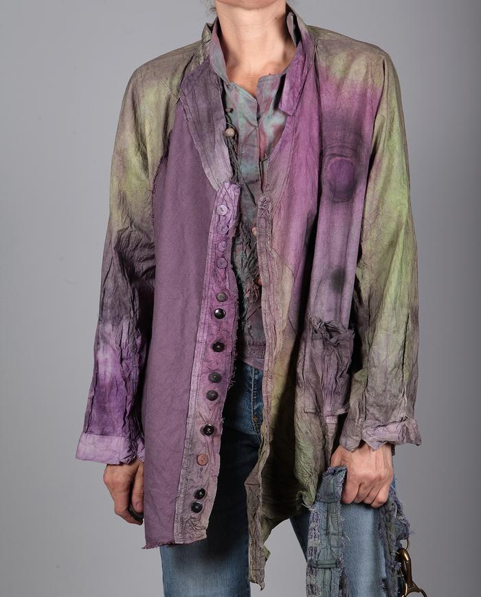 one size crisp crinkle-at-will jacket