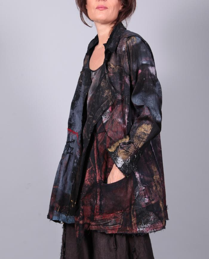 'a story yet untold' detailed roomy jacket
