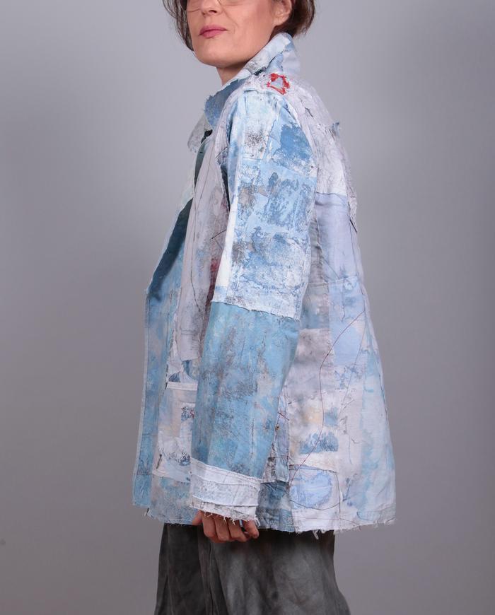 'blue moon' detailed summer jacket