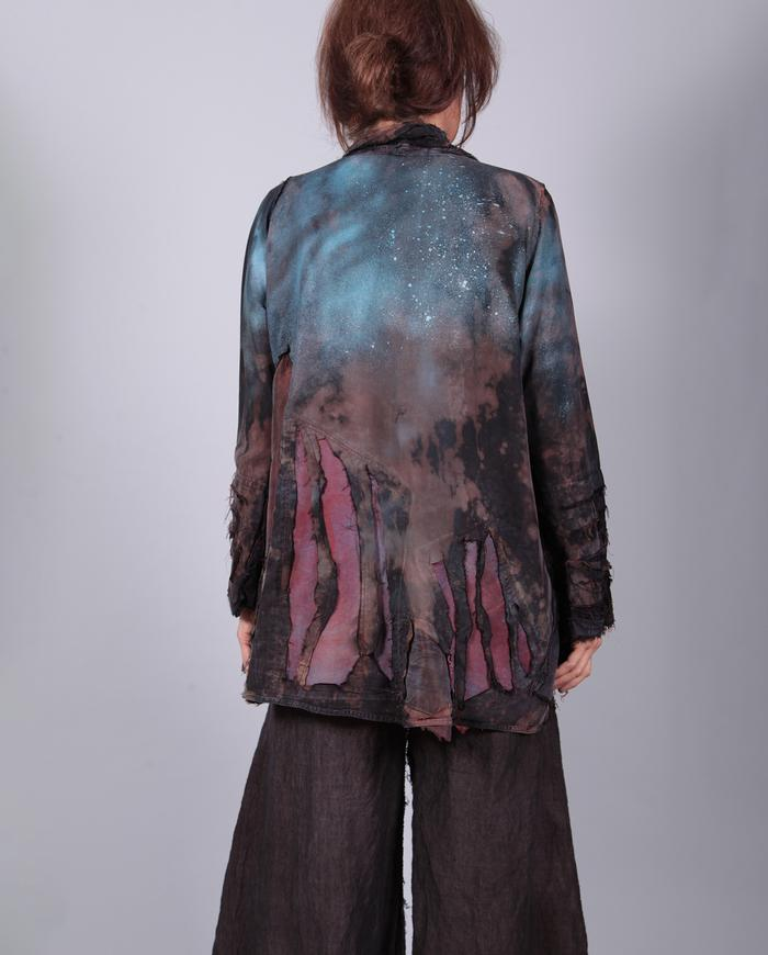 'earth to night sky' detailed jacket