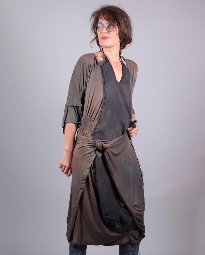 'play time' versatile drapey dress
