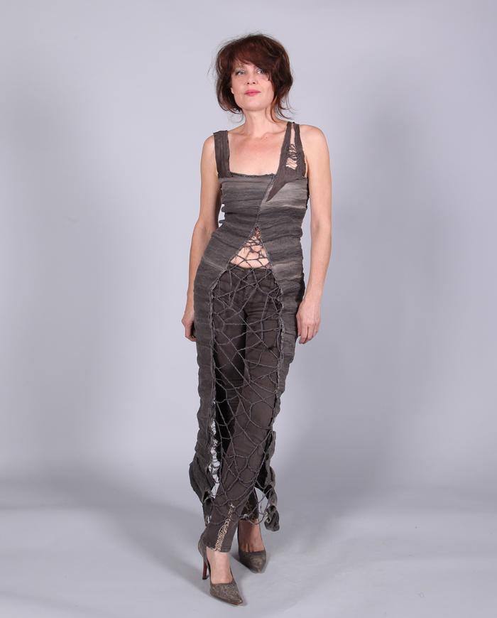 couture body-hugging maxi dress - CUSTOM ORDER